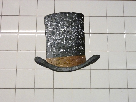 Walk About New York, Subway Art Tour, New York, Mosaics, #artsfortransit