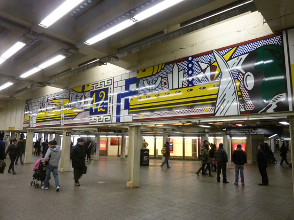 Walk About New York, Subway Art Tour, New York, Mosaics, #artsanddesign