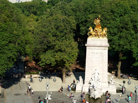 USS Maine Memorial Monument, Columbus Circle, Central Park