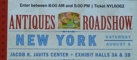 Antiques Roadshow, New York Edition, Mark Walberg, Leslie Keno, Antiques, Jacob Javits Convention Center, Big Apple
