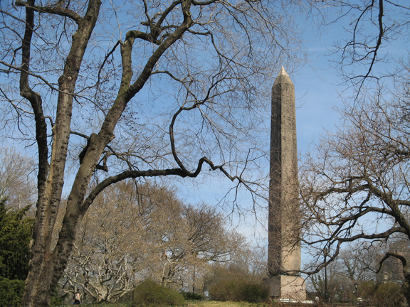 Central Park, Egyptian Obelisk, Cleopatra's Needle, New York