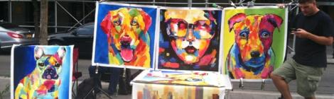 Union Square, Five Squares and a Circle Tour, Art, Music, Painters