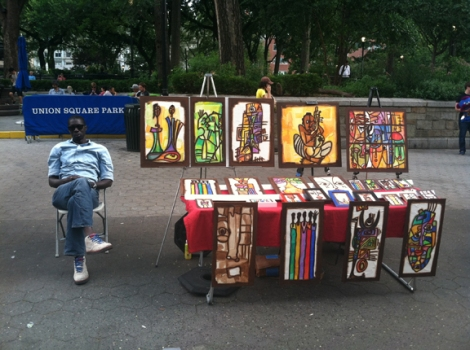 Union Square, Five Squares and a Circle Tour, Art, Music, Painters