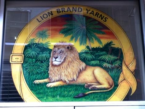 Knitting, Lion Brand Yarn Studio, Rosie the Riveter, 34 West 15th Street, Project Linus