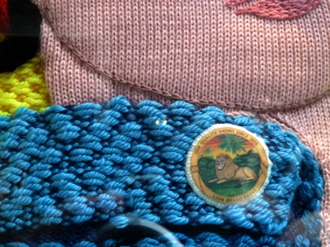 Knitting, Lion Brand Yarn Studio, Rosie the Riveter, 34 West 15th Street, Project Linus