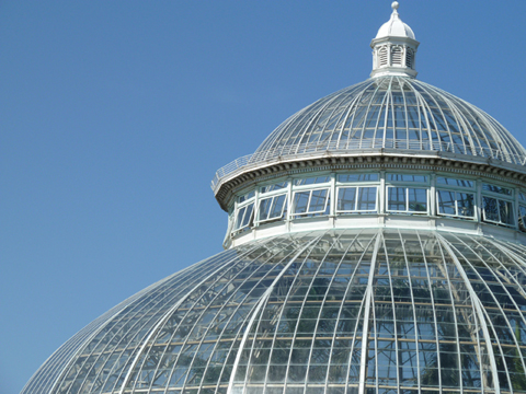 New York Botanical Garden, Enid A. Haupt Conservatory, Flowers, Glass dome