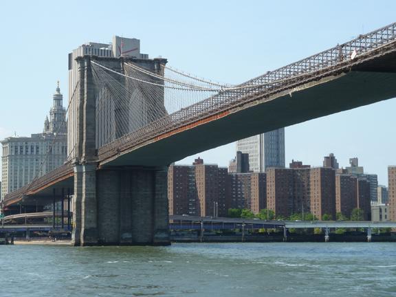 East River, Brooklyn Bridge, Gothic Arches, Brooklyn, Brooklyn Heights, Lower Manahattan