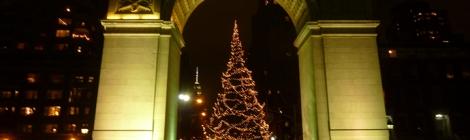 Christmas Tree, Greenwich Village, Washington Square Park, Washington Arch, Rockefeller Center, Tree Lighting Ceremony, Christmas Tree Tradition