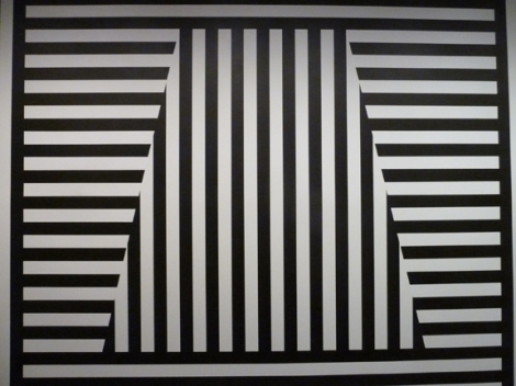 Sol LeWitt, Metropolitan Museum of Art, MMA, wall drawing, Black and White, Op Art, Conceptual Art, Modern Art, Metropolitan Transportation Authority, Geometric