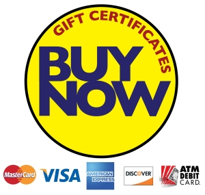 Walk About New York, Gift Certificates, PayPal, MasterCard, VISA, American Express, Discover, Debit Card