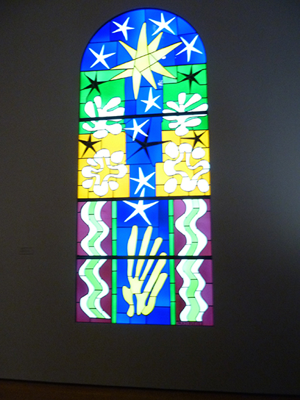 Henri Matisse, MoMA, Museum of Modern Art, Cutouts, Colorful, Abstract, French, Art Exhibit, New York, Stained Glass, Christmas Eve, Life Magazine,