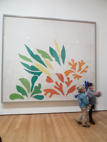 Henri Matisse, MoMA, Museum of Modern Art, Cutouts, Colorful, Abstract, French, Art Exhibit, New York, Acanthus, Children, Kiddies