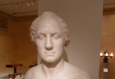 George Washington, Metropolitan Museum of Art, Horatio Greenough, Sculptor, Sculpture, Marble, Bust, 19th-century, America, Jean-Antoine Houdon