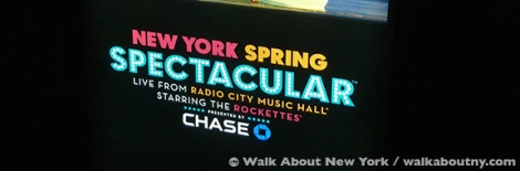 Radio City Music Hall, New York Spring Spectacular, the Rockettes, Laura Benanti, Derek Hough, Metropolitan Museum of Art to Central Park, the Statue of Liberty, Times Square, Grand Central Terminal