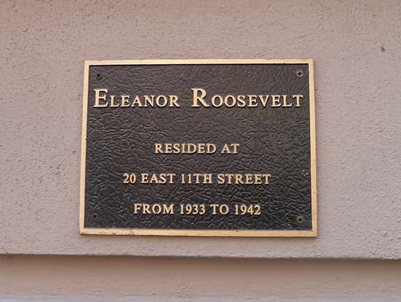 EleanorRooseveltPlaque1
