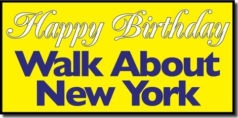Walk About New York, Birthday, April 1, First Anniversary, Gay Village Walking Tour,