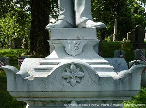 Green-Wood Cemetery, Brooklyn, Clarence McKenzie, Civil War, Drummer Boy, Zinc, Gay Graves Tour, Memorial Day,