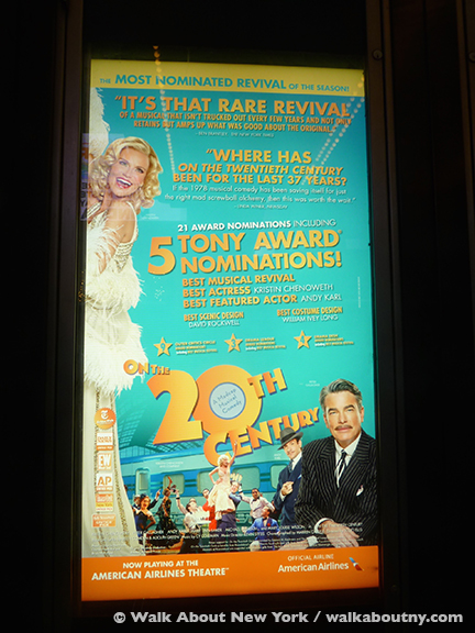 Broadway Musical, Peter Gallagher, On the Twentieth Century, Train, Kristin Chenoweth, Tony Awards, Andy Karl, Revival, Twentieth Century Limited,