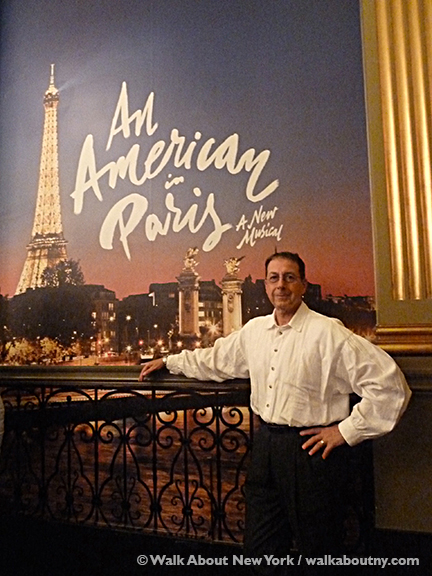 An American in Paris, Gene Kelly, Broadway, Broadway Musical, Ballet, Dance, Christopher Wheeldon, Robert Fairchild, Palace Theatre, Leanne Cope, Leslie Caron, Paris, American, Tony Award, Best Musical, Best Choreography, Tony Award Winner
