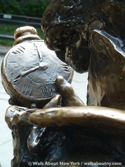 Alice in Wonderland, Central Park, Central Park Walking Tour, Walk About New York, George Delacorte, Margarita Delacorte Memorial, Conservatory Water, Bronze, Mad Hatter, Dormouse, White Rabbit, Alice's Adventures in Wonderland, Lewis Carroll