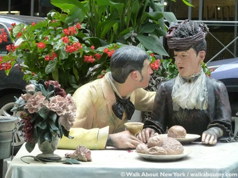 Seward Johnson, Broadway, Garment District Alliance, Summer Arts on the Plazas, Celebrating the Familiar, Beyond the Frame, Icons Revisited, Grounds for Sculpture, Johnson & Johnson, Times Square, Hamilton NJ, Seward Johnson in New York Selections from the Retrospective