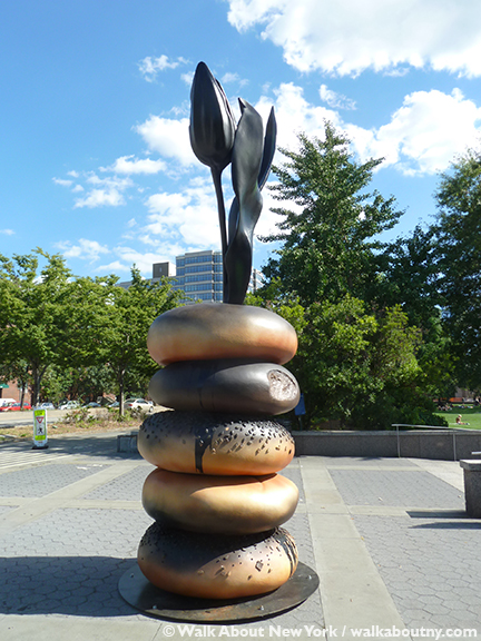 Hanna Liden, Bagel, Swedish, Christopher Street, Hudson River Park, Ruth Wittenberg Plaza, Kiehl's, Art Production Fund