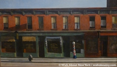 Whitney Museum of American Art, Edward Hopper, Josephine Hopper, Art, Railroad Sunset, Seven A.M., Early Sunday Morning, Painting