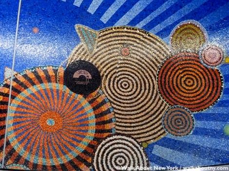 Xenobia Bailey, Subway Art, Subway Art Tour, Hudson Yards, #7 Subway Line, Midtown Manhattan, West Side, MTA, Metropolitan Transportation Society, crochet art, needle art