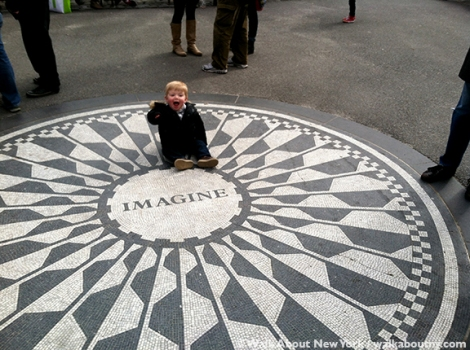 Strawberry Fields, John Lennon, Yoko Ono, Central Park, New York, Central Park Walking Tour, Beatles, Music, Walk About New York, Central Park Conservancy, 30 years, Anniversary