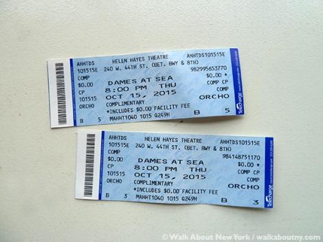 Broadway Musical, Broadway, Dames at Sea, Musical, New York, Busby Berkeley, Tap Dancing