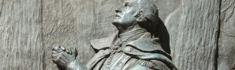 George Washington, Federal Hall, Earnest Prayer, Bronze Relief, Wall Street, Veteran's Day, James E. Kelly