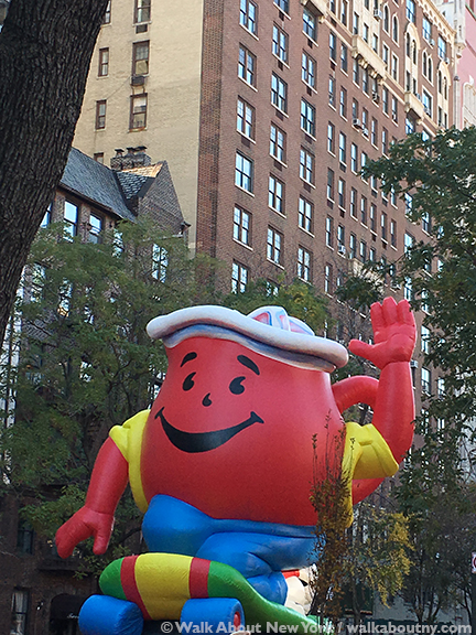 Macy's, Thanksgiving Day, Thanksgiving Day Parade, Balloons, Helium, Central Park West, Inflate, Parade, New York City, Koo Aid Kid