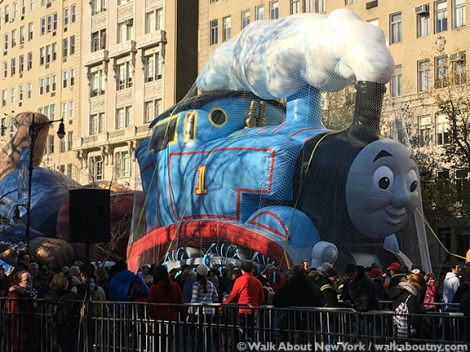 Macy's, Thanksgiving Day, Thanksgiving Day Parade, Balloons, Helium, Central Park West, Inflate, Parade, New York City, Thomas the Tank Engine