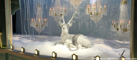 Macy's, Saks Fifth Avenue, Harry Winston, Tiffany & Co., Bergdorf Goodman, Barneys, Christmas, Windows, Window Decoration, Swarvosky, Crystal,