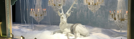 Macy's, Saks Fifth Avenue, Harry Winston, Tiffany & Co., Bergdorf Goodman, Barneys, Christmas, Windows, Window Decoration, Swarvosky, Crystal,