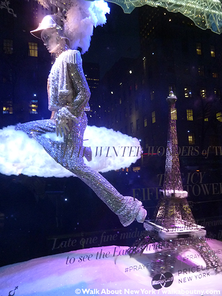 Macy's, Saks Fifth Avenue, Harry Winston, Tiffany & Co., Bergdorf Goodman, Barneys, Christmas, Windows, Window Decoration, Swarvosky, Crystal,Winter Palace