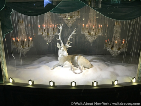 Macy's, Saks Fifth Avenue, Harry Winston, Tiffany & Co., Bergdorf Goodman, Barneys, Christmas, Windows, Window Decoration, Swarvosky, Crystal,Winter Palace,Tiffany Diamond,Nymphenburg Porcelain