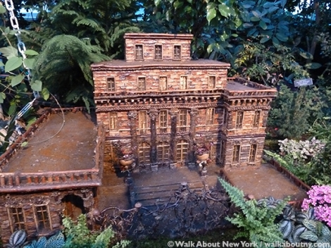 New York Botanical Garden, the Bronx, Model Trains, Trains, Enid A. Haupt Conservatory, Applied Imagination, Paul Busse, New York, Alexandria, Kentucky