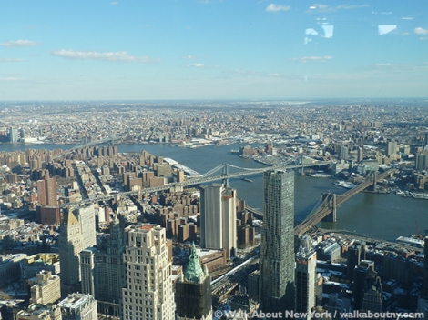 One World Trade Center, 9/11, Twin Towers, 9/11 Memorial, See Forever, One World Observatory, Downtown Manhattan, 50 Mile Views, Walk About New York