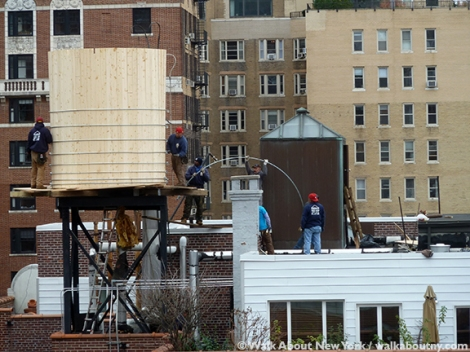 Water Tank, Rosenwach Tank Co, Water, New York Symbol,