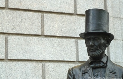Abraham Lincoln, StudioEIS, New-York Historical Society, Ivan Schwartz, Bronze, Central Park West, New York City, Cooper Union, Ford's Theater, Top Hat, Gettysburg, Brooklyn, Lincoln Cottage, Washington, D.C., Honest Abe