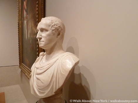Metropolitan Museum of Art, Giuseppe Ceracchi, George Washington, John L. Cadwalader, Sculpture, Bust, Marble, Art,