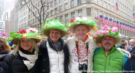 New York Easter Parade Family Bonnets