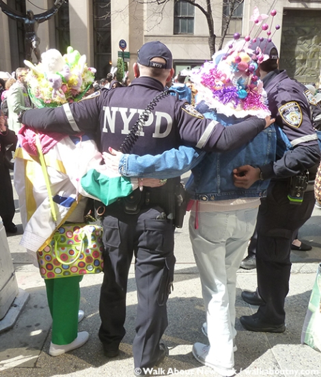 New York Easter Parade NYPD