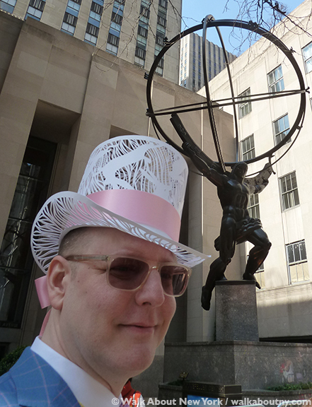 New York Easter Parade Paper Top Hat