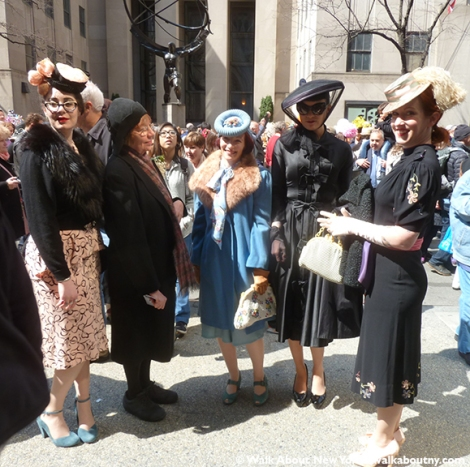 New York Easter Parade 1940s Costumes