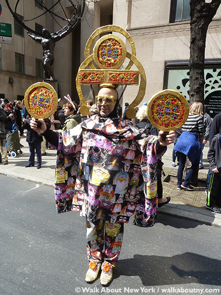 New York Easter Parade Aztec Costumes