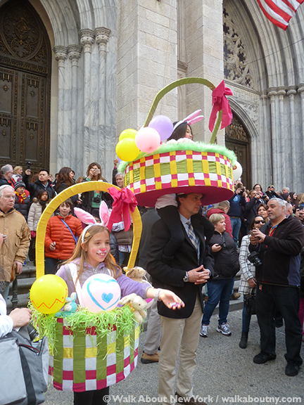 New York Easter Parade Basket Costumes