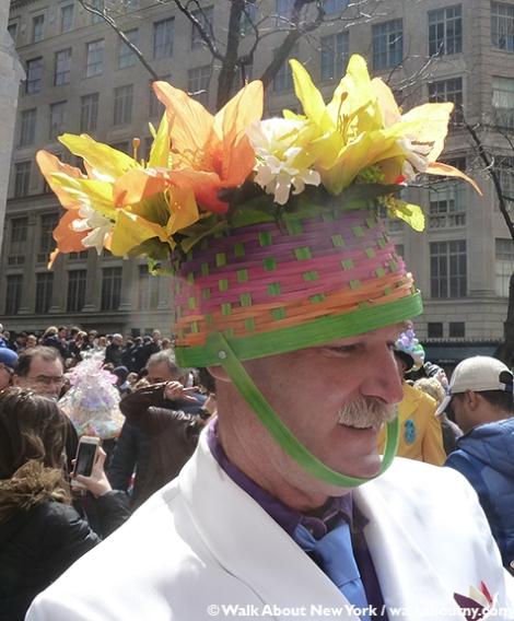 New York Easter Parade Basket Hat