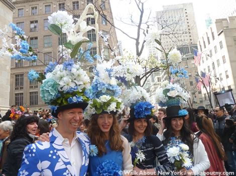 New York Easter Parade Flower Hats